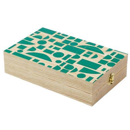 Wolfum Mancala - Green Blocks