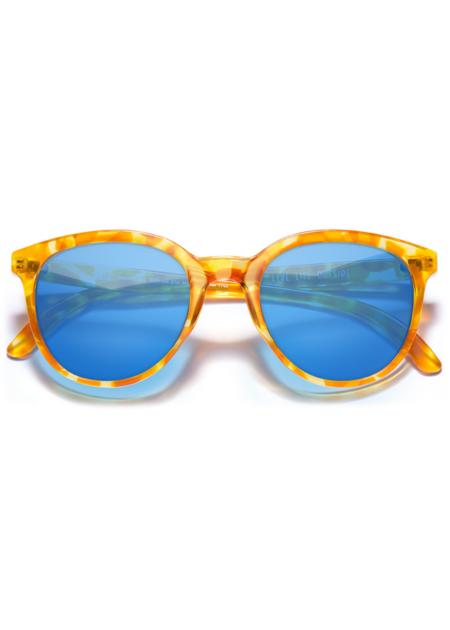 Sunski Makani eyewear - Blonde Tortoise/Aqua