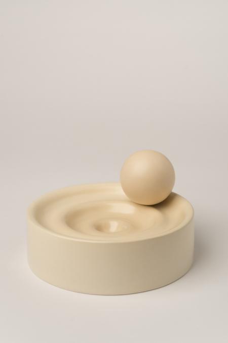 Los Objetos Decorativos Waves Sculpture - Sand