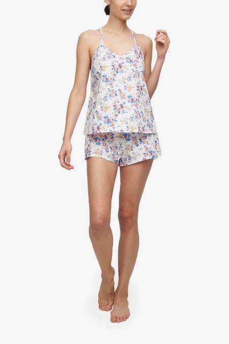 The Sleep Shirt Classic Camisole & Classic Short Set - Summer Floral