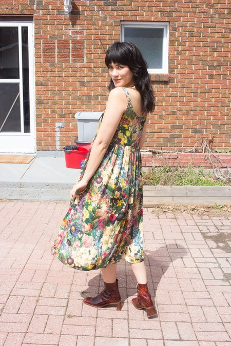 Samantha Pleet Myth Dress - Garden