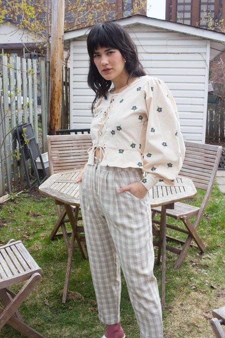 Samantha Pleet Starry Night Blouse - white