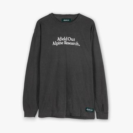 afield out Alp Research Long Sleeve T-shirt - Pepper