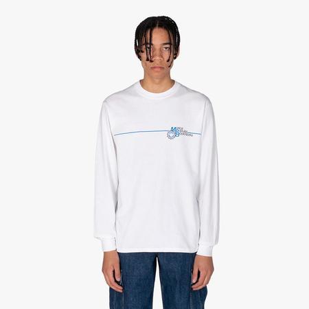 Book Works MPB L/S T-shirt - White