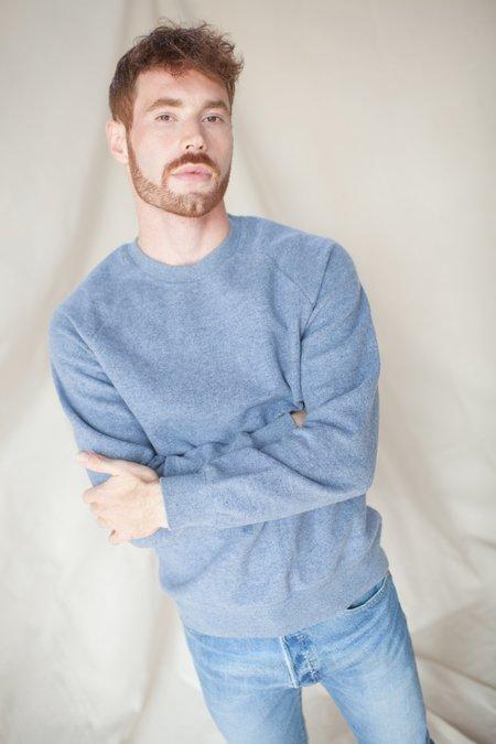 La Paz Cunha Mesc Fleece Sweatshirt - Blue