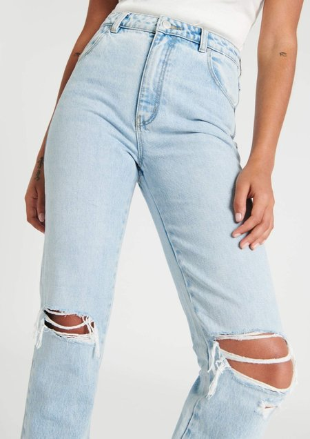 Rollas Original Straight Jeans - Sunbleach Worn