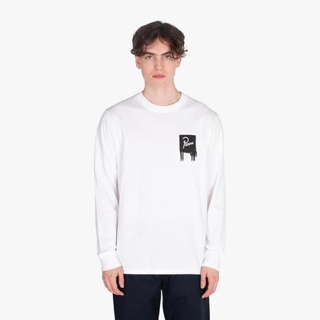 by Parra Joy Inside Long Sleeve T-shirt - White