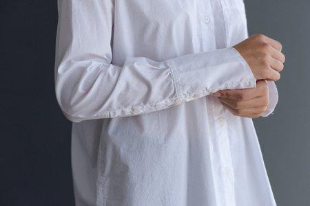 Kristensen du Nord #114 Button Down shirt - White