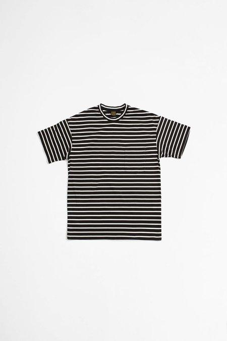 A Vontade Border T-shirt - Black/White