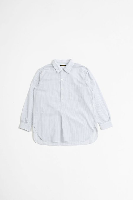 A Vontade Pullover Shirt - White Stripe