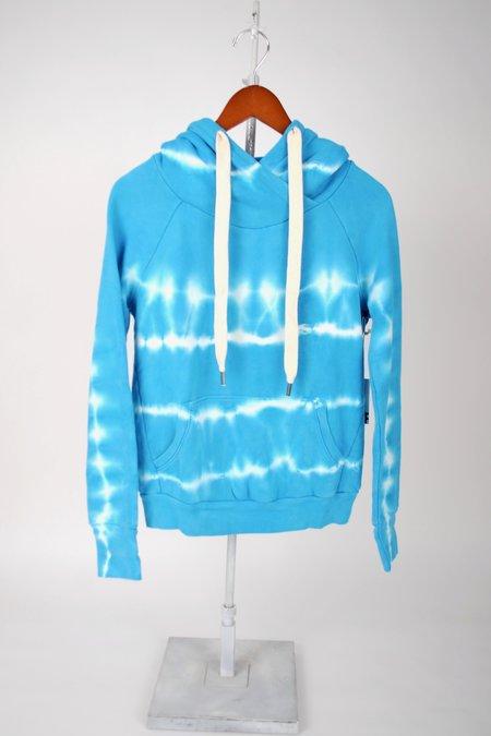 NSF Lisse Raglan Pullover Hoody sweatet - Refraction Stripe Dye