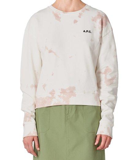 A.P.C. Roma Sweatshirt - Rose