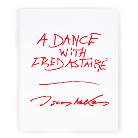 "Anthology Editions ""A Dance With Fred Astaireé"" by Jonas Mekas book"