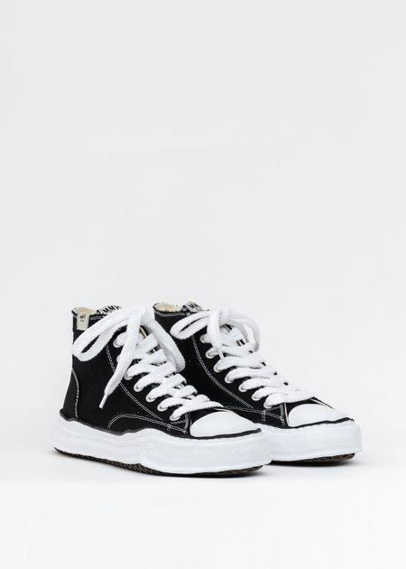 Mihara Yasuhiro Original Sole Canvas Hicut Sneaker - Black