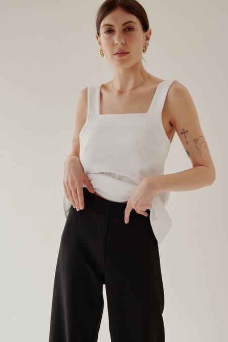 Mina Moi Wool Pant - Black
