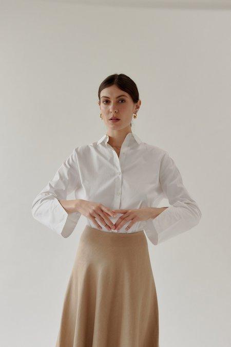 Mina Runaway Shirt - White