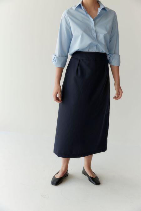 Mina Wander Skirt - Navy