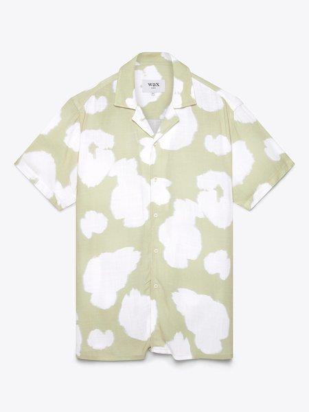 Wax London Didcot Shirt Sleeve top - Sage