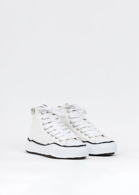 Mihara Yasuhiro Original Sole Canvas Hicut Sneaker - White