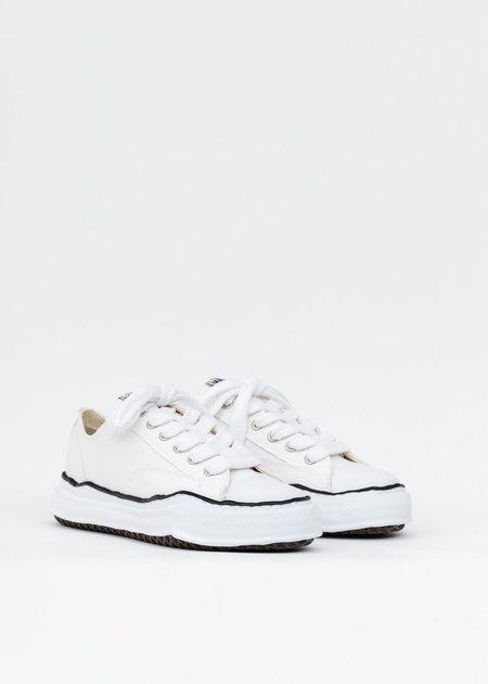 Mihara Yasuhiro Original Sole Canvas Lowcut Sneaker - White