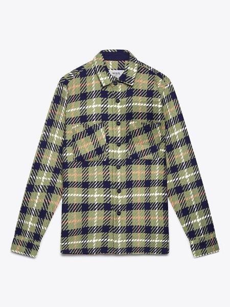Wax London Whiting Heavy Beatnik Recycled Cotton jacket - Khaki
