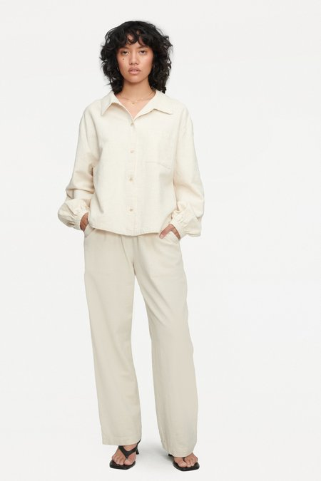 Lacausa Sonny Blouse - Natural