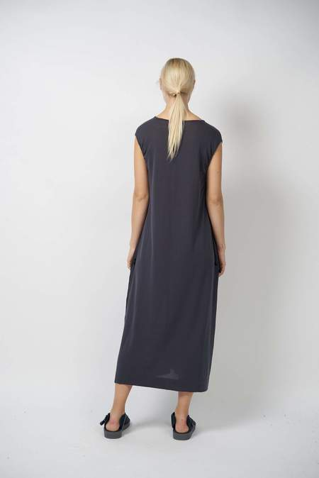 Oyuna archive Gabek Knitted Luxury Fossil Cotton Dress - Fossil