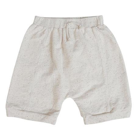 Kids Nico Nico Arrow Shorts - Confetti Natural Cream