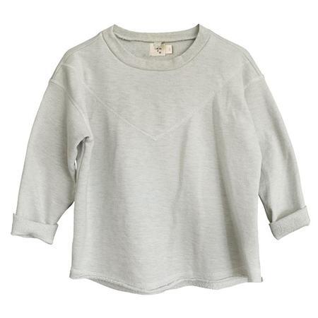 Kids Nico Nico Neve Heathered Sweatshirt - Natural Cream