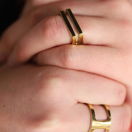 Meyelo Limba Ring - Brass