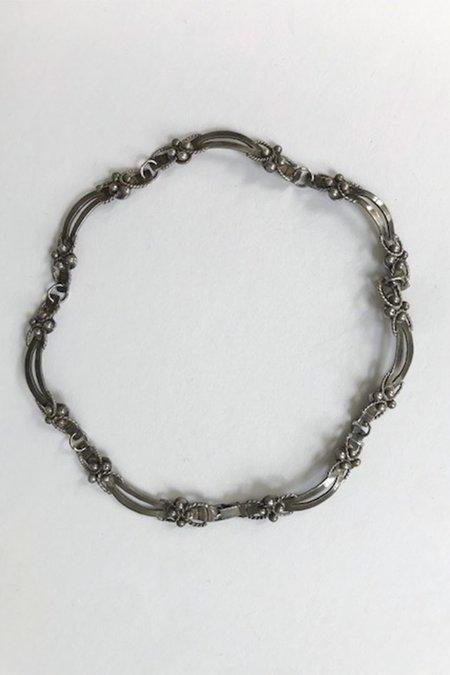 Vintage Deborah Forman Antique Taxco Necklace - Sterling