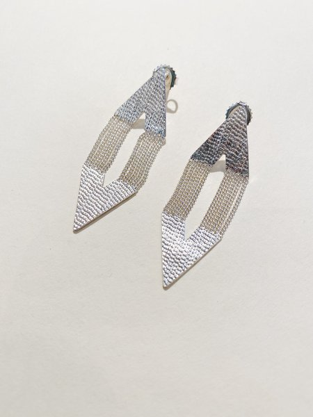 Hannah Keefe Small Point Earrings - Sterling Silver