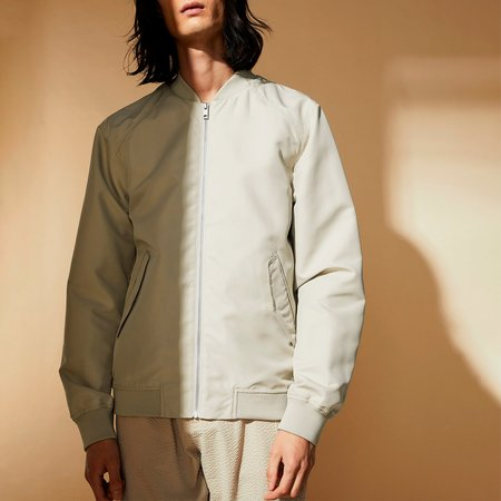 Elvine Rex Peached NP Jacket - Linen Grey