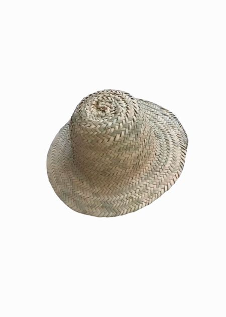 Marrakech shop design Medina straw hat - natural