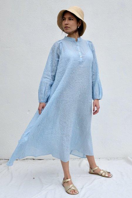 Pietsie Atlin Dress - Pale Blue Stripe