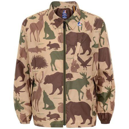 Engineered Garments x K-Way Crepin Jacket - Animal Print