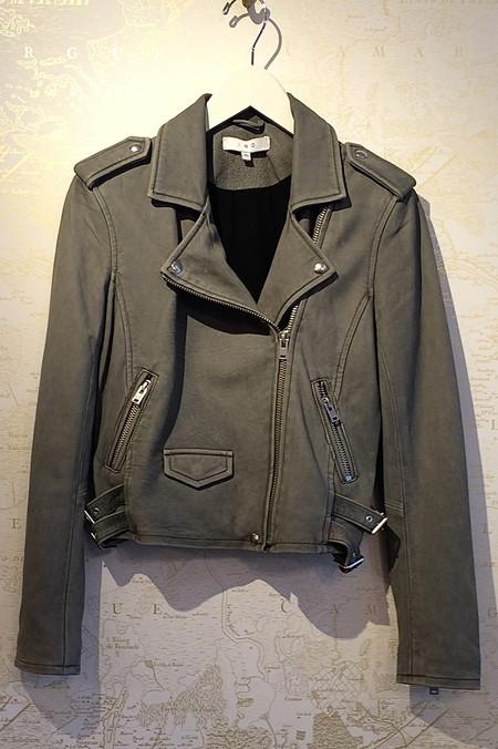 IRO 'Ashville' Leather Moto Jacket
