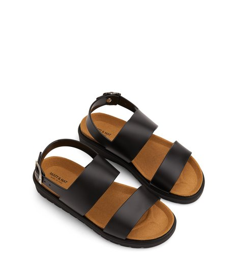 Matt & Natt Ashai Vegan Sandals - Black