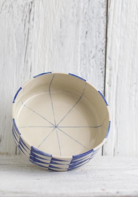 Rust Designs No. 3 Ceramic Pedestal Bowl