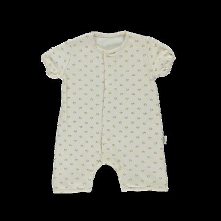 Kids Poudre Organic Fenouil Baby Romper - Honey Print
