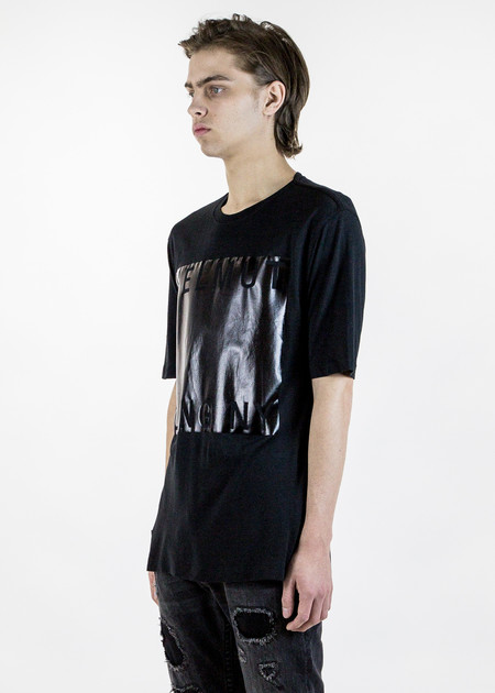 Men's Helmut Lang Black Box Film Print T-Shirt