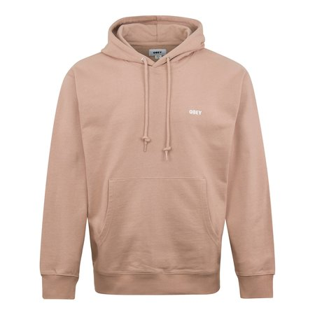 Obey Floating Chest Logo Hoodie - Pink