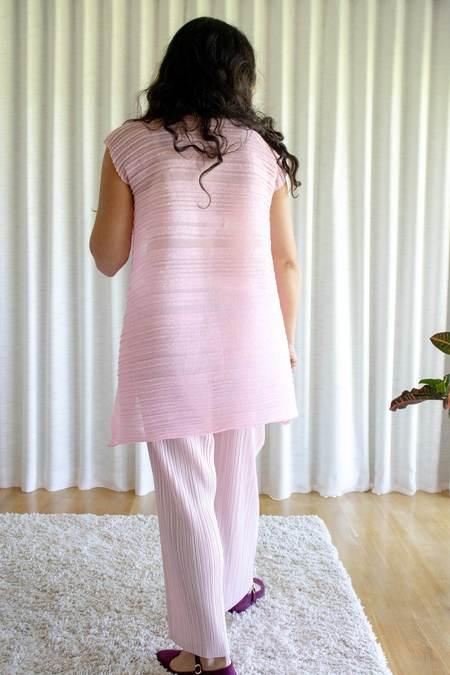 Issey Miyake Pleats Please Thicker Bottoms - Light Pink