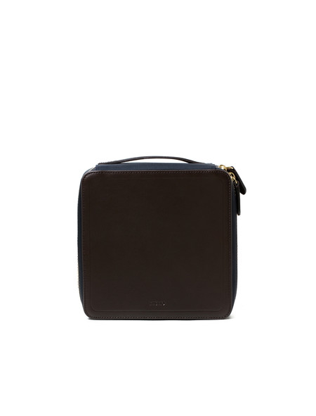 Mismo M/S Capsule - Navy/Dark Brown