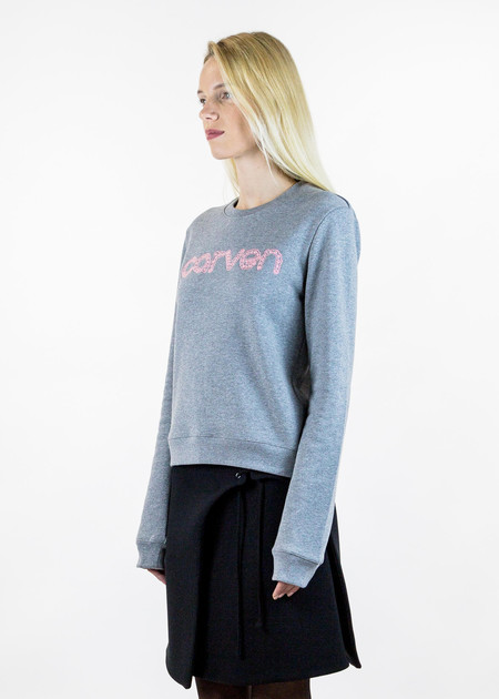 Carven Embroidered Logo Pullover