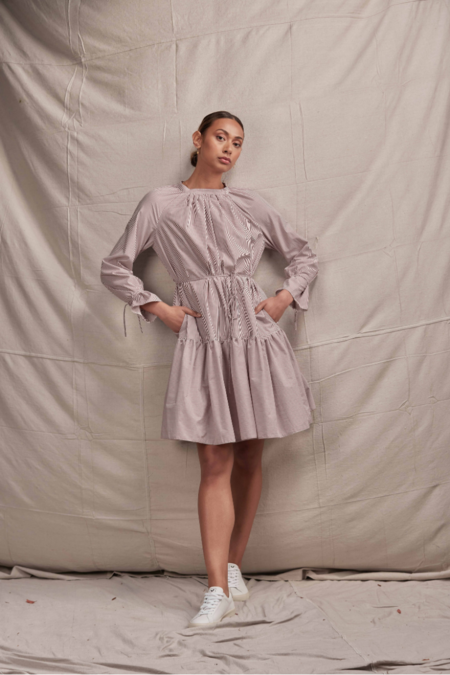 Lois Hazel Cena Dress - Stripe