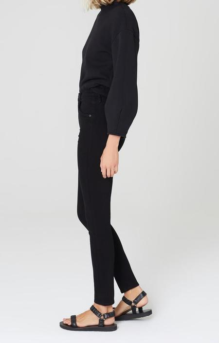 Citizens of Humanity Chrissy High Rise Skinny Fit pants - Plush Black