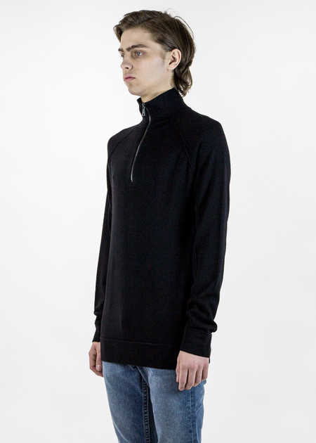 Helmut Lang Knit Half-Zip Pullover