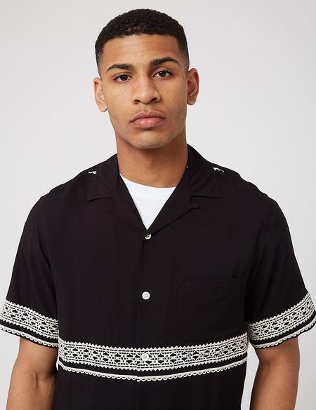 Portuguese Flannel Folclore 1 Shirt - Black