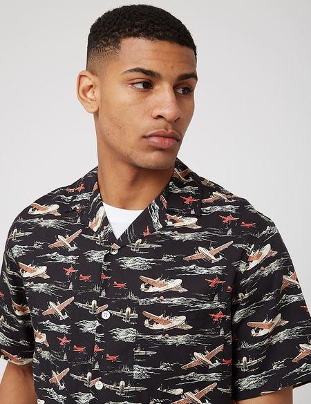 Portuguese Flannel Vintage Aeronautic Shirt - Multi
